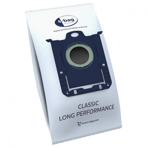 Electrolux S-bag Classic Long Performance E201S fleece pose (4 stk.) ORG.