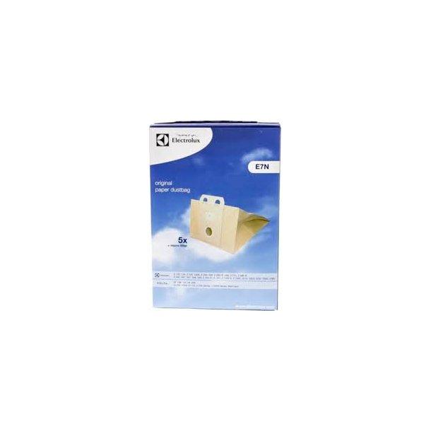 Electrolux E7N papir poser (5 stk.) ORG.