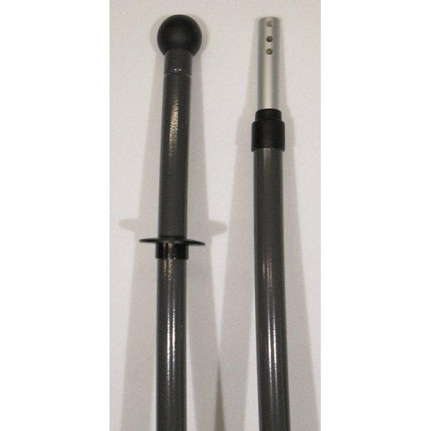 Ergoskaft med kuglegreb og teleskop