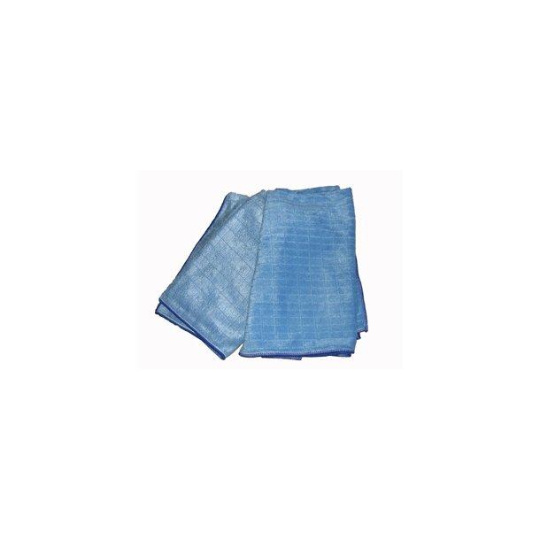 Microfiber gulvklud 50 x 55 cm. blå