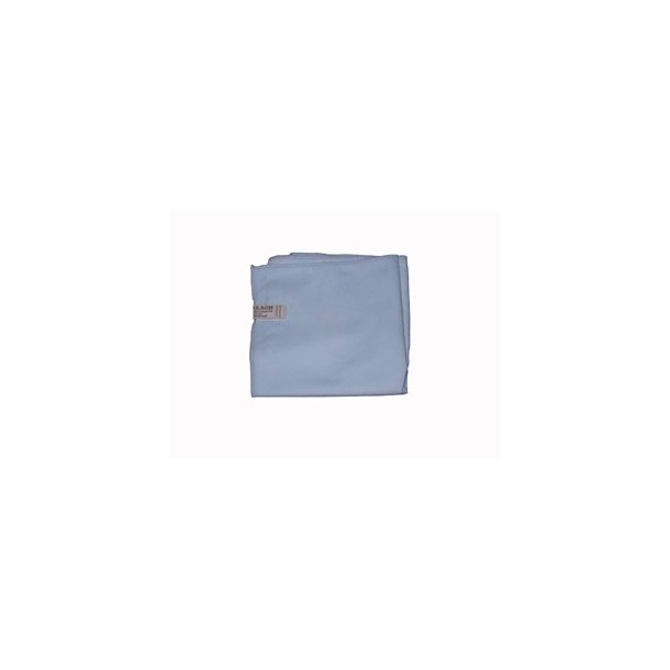 Microfiber polerklud 40 x 40 cm. blå