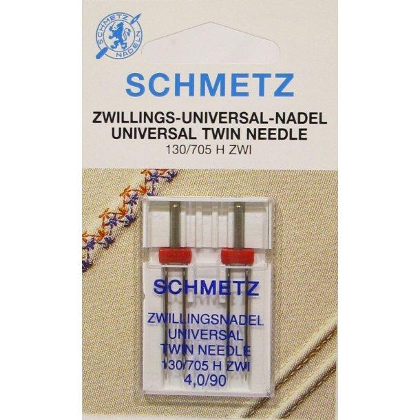 Schmetz universal tvilling 130/705 H ZWI 4,0/90