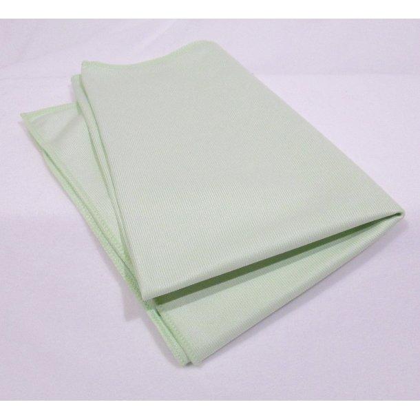 Microfiber glasklud 50 x 70 cm. grøn